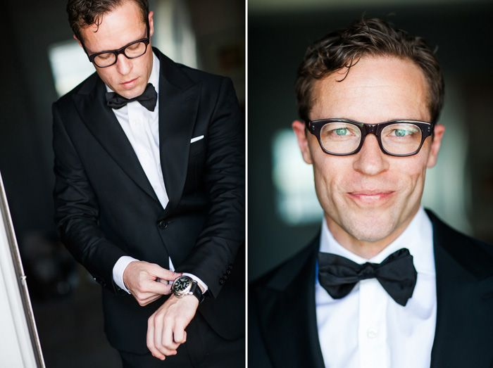 Hornrimmed Glasses - 20 Stylish Grooms & Groomsmen Looks for a 1950s Wedding