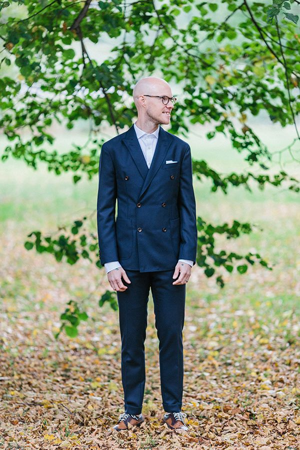 Hornrimmed Glasses - 20 Stylish Grooms & Groomsmen Looks for a 1950s Wedding
