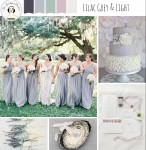 Lilac Grey & Light - Elegant Wedding Inspiration in a Chic Grey & Pastel Palette