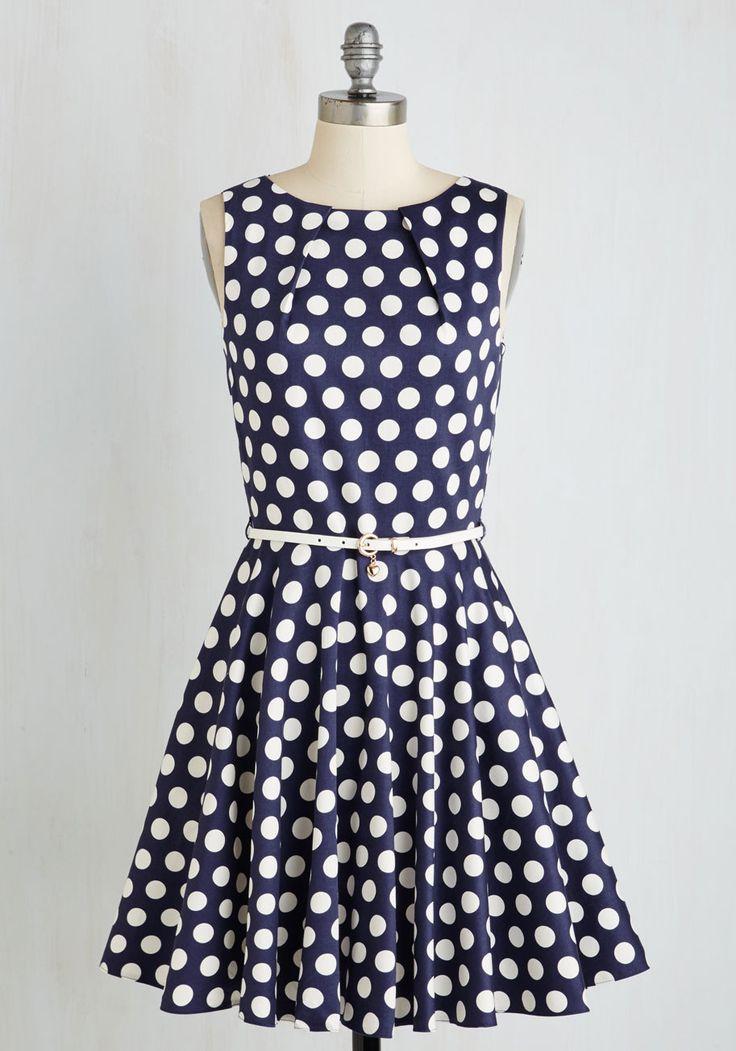 Preppy 1950s Inspired Bridesmaids Dress