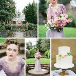 Romantic Spring English Garden Wedding Inspiration
