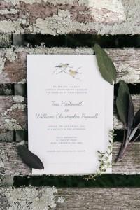 Garden Wedding Invitation - An Enchanting Early Summer Garden Wedding