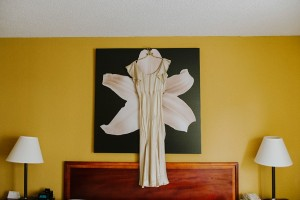 A DIY City Wedding with a Stunning 1930s Wedding Dress
