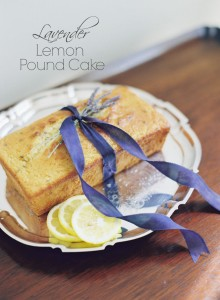 DIY Delicious Lemon & Lavender Pound Cake