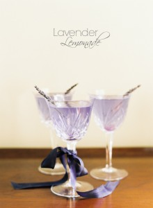 DIY Lavender Lemonade for an Wedding Tipple
