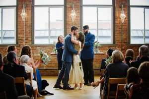 Vintage Wedding - A DIY City Wedding with a Stunning 1930s Wedding Dress