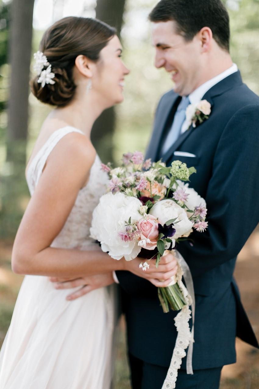 Romantic Bridal Bouquet - An Enchanting and Elegant Vintage Garden Wedding