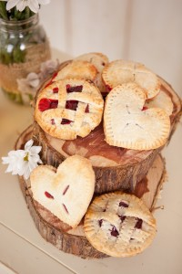 DIY Strawberry Mini Pies for Valentines
