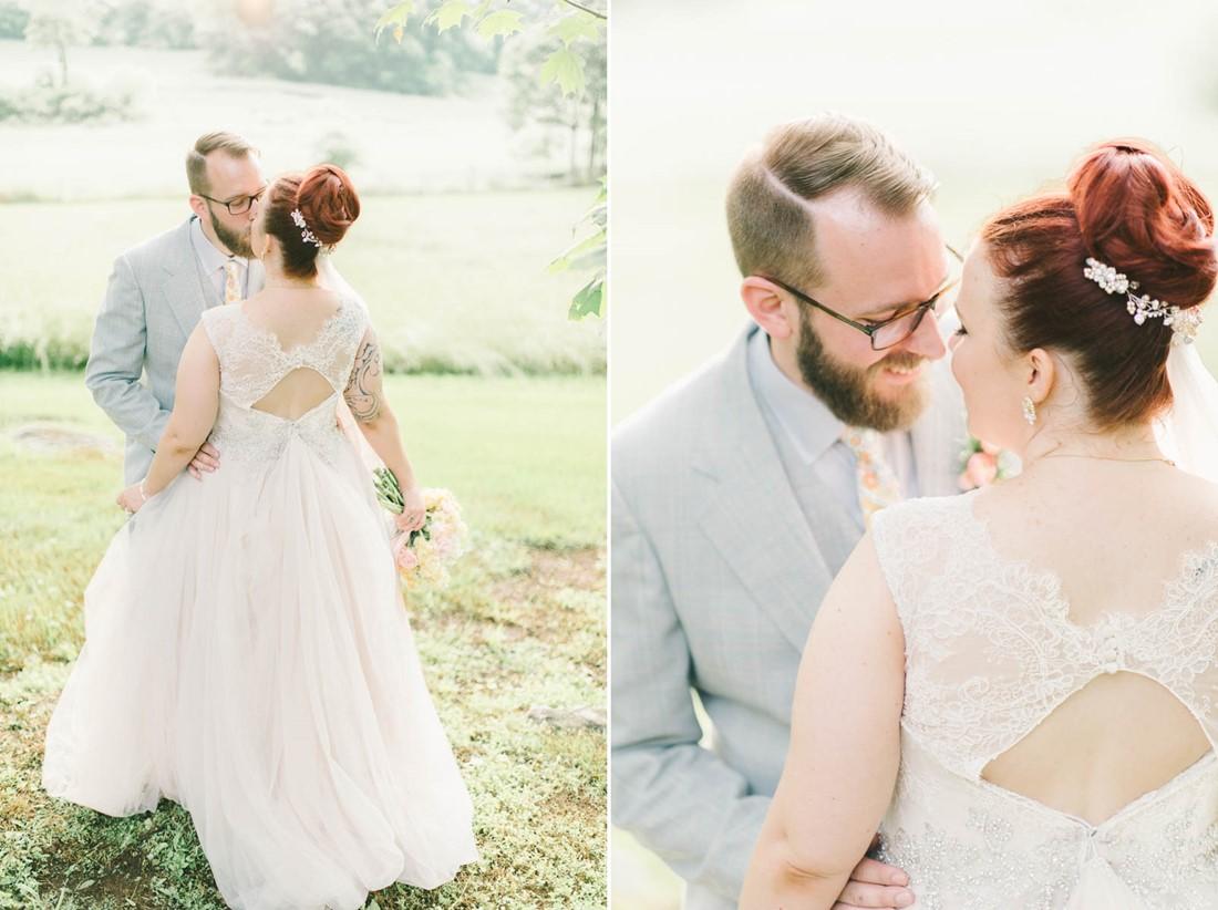 Vintage Bride & Groom - A Romantic Vintage Spring Wedding