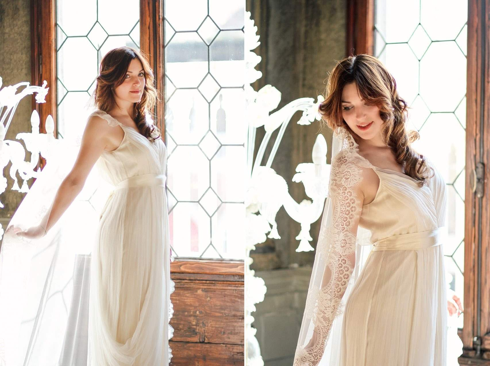 The Most Romantic Bridal Shoot in a Palace in Venice