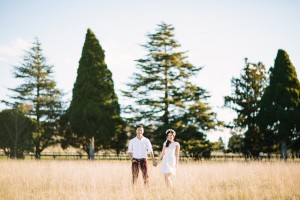 A Romantic Spring Engagement Full of Vintage Charm