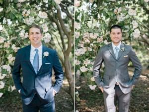 Groom & Groomsmen - An Enchanting Early Summer Garden Wedding