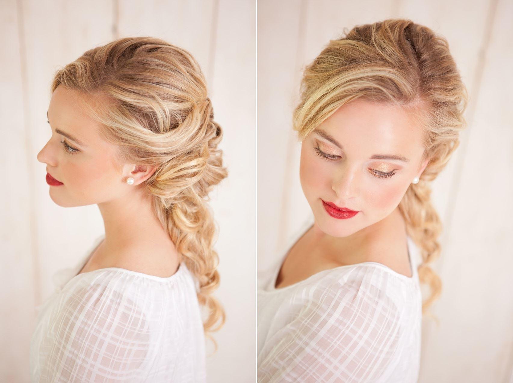 Свадебные прически с фото на все типы волос - Мир Позитива 729
