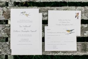 Garden Wedding Stationery - An Enchanting Early Summer Garden Wedding