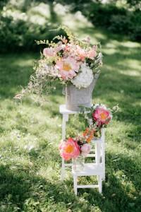 Aisle Decor - An Enchanting Early Summer Garden Wedding