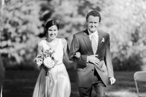Bride & Father - An Enchanting Early Summer Garden Wedding