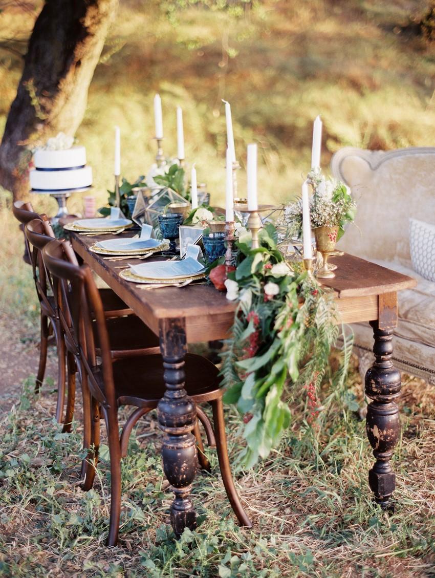 Autumn Wedding Tablescape