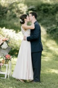 First Kiss - An Enchanting Early Summer Garden Wedding