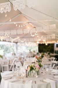 Wedding Reception Decor - An Enchanting Early Summer Garden Wedding