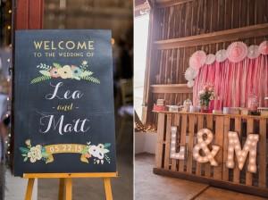 Barn Wedding Decor - A Romantic Modern-Vintage Wedding with an Elegant Barn Reception Romantic Modern-Vintage Wedding with an Elegant Barn Reception