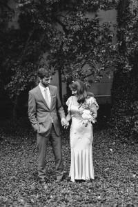 Vintage Wedding - A DIY City Wedding with a Stunning 1930s Wedding Dress