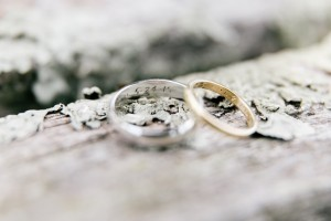 Engraved Wedding Rings - An Enchanting Early Summer Garden Wedding