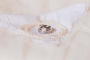 Bridal Jewelry - A Romantic Modern-Vintage Wedding with an Elegant Barn Reception