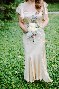 Bridal Bouquet - A DIY City Wedding with a Stunning 1930s Wedding Dress