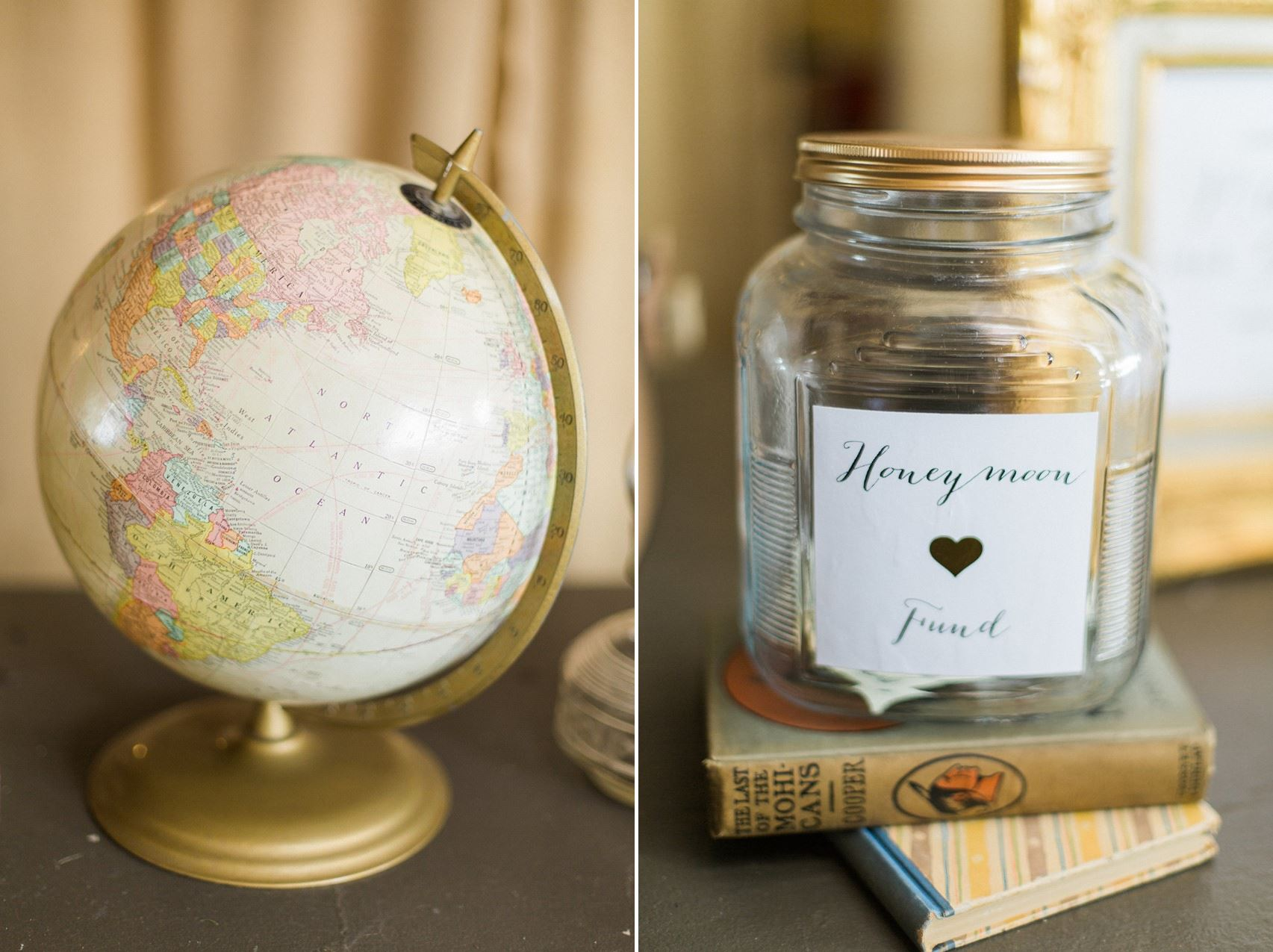 Honeymoon Fund - A Romantic Modern-Vintage Wedding with an Elegant Barn Reception Romantic Modern-Vintage Wedding with an Elegant Barn Reception