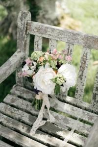 Romantic Bridal Bouquet - An Enchanting Early Summer Garden Wedding