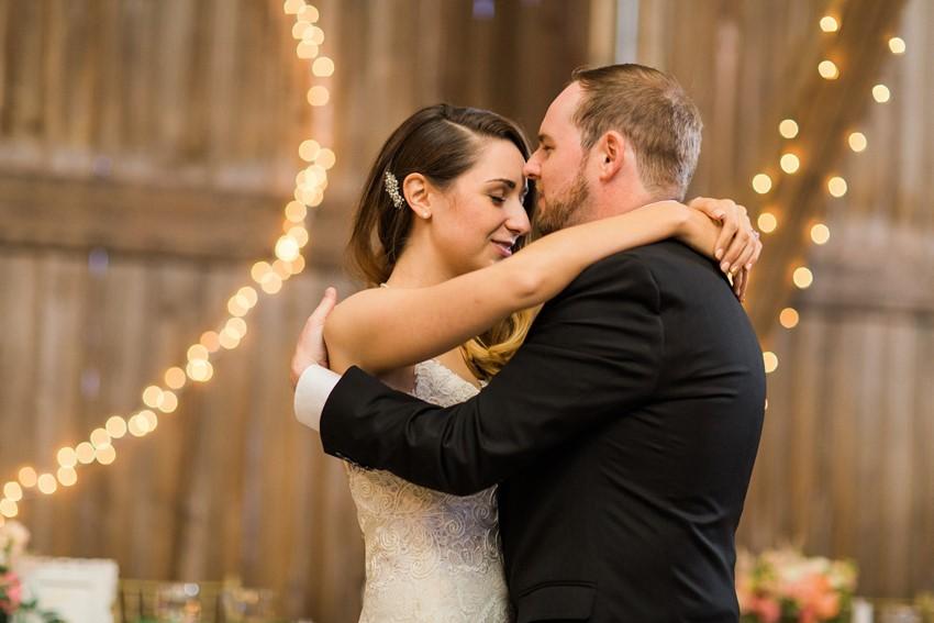 First Dance - A Romantic Modern-Vintage Wedding with an Elegant Barn Reception Romantic Modern-Vintage Wedding with an Elegant Barn Reception