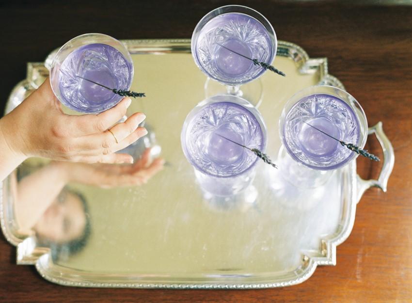 DIY Lavender Lemonade for an Wedding Tipple