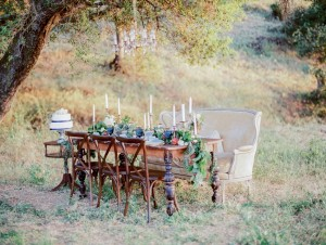 Chic Countryside Wedding Reception