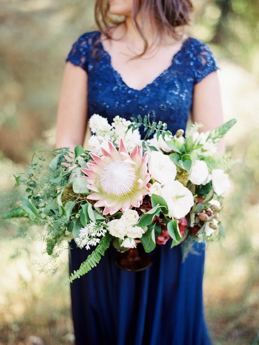 Beautiful Protea Bridal Bouquet
