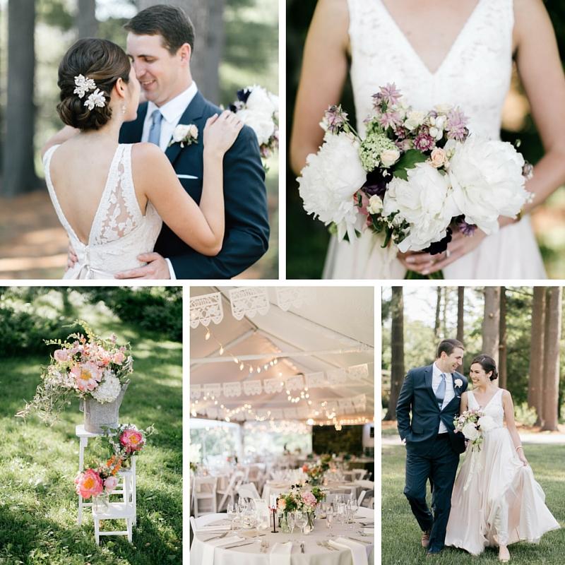 An Enchanting Early Summer Garden Wedding Full of Vintage Elegance
