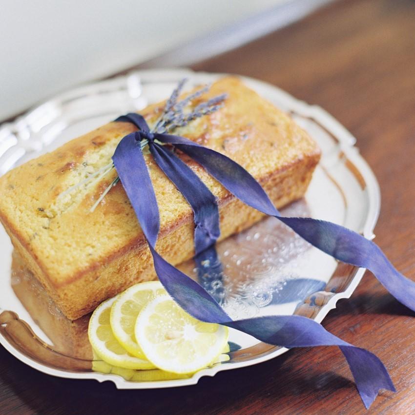 Delicious Lemon Amp Lavender Cake Recipe Chic Vintage Brides