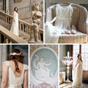The Most Romantic Bridal Shoot in a Venetian Palace with Photography by Justina Bilodeau