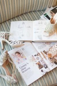 Glamorous Bridal Shoes from Emmy London