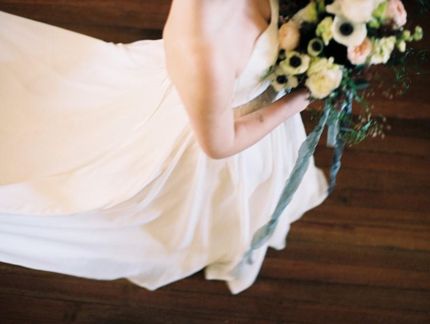 Modern Vintage Wedding Dress - A Love Poem Brought To Life