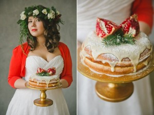 A Christmas Fairytale Wedding Inspiration Shoot