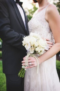Art Deco Bride & Groom - Glamorous Art Deco Wedding Inspiration