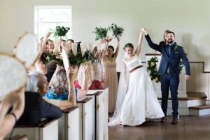 Husband & Wife - A Vintage Americana Wedding