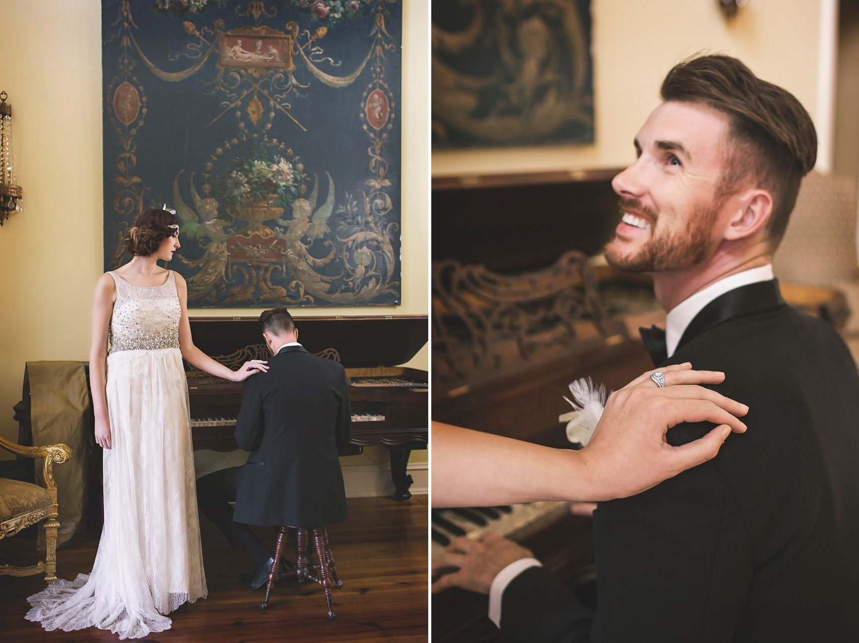 Glamorous Art Deco Wedding Inspiration
