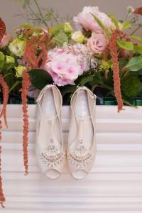 Art Deco Bridal Heels - A 1920s Speakeasy-Inspired Wedding Styled Shoot