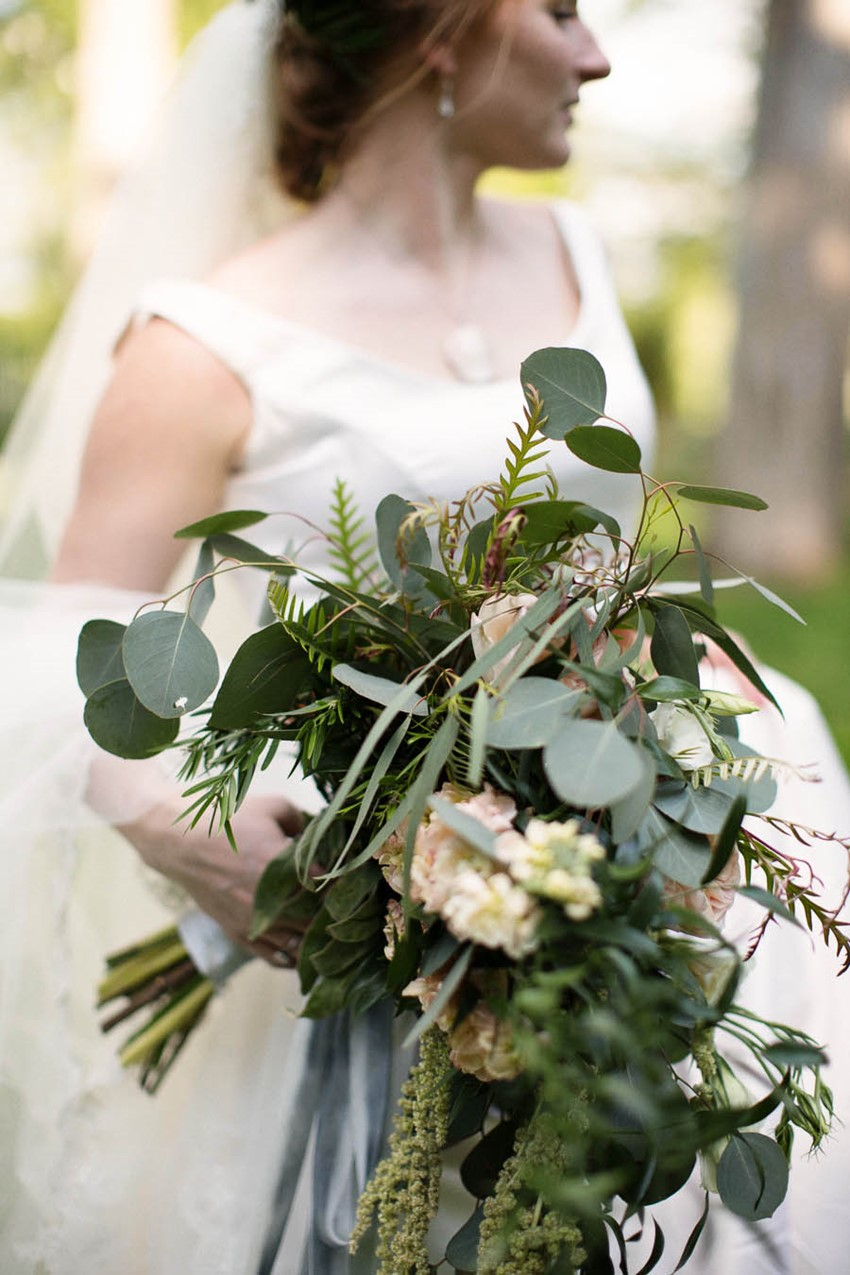Bridal Bouquet - A Vintage Americana Wedding