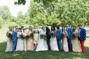Bridal Party - A Vintage Americana Wedding
