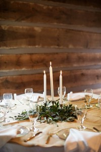 Wedding Reception Decor - A Vintage Americana Wedding