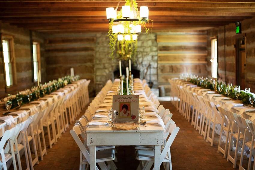 Wedding Tablescapes - A Vintage Americana Wedding