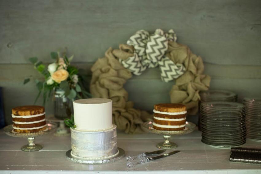 Wedding Dessert Table - A Vintage Americana Wedding