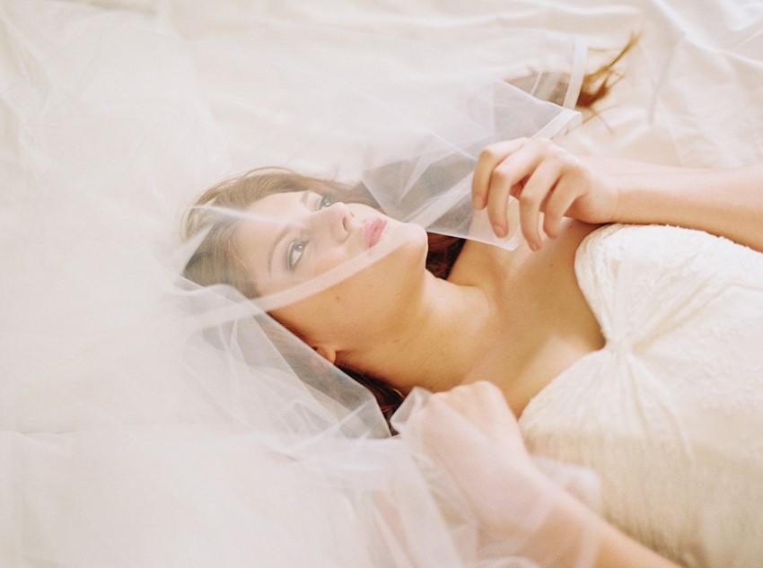 Romantic Bridal Portrait - A Love Poem Brought To Life